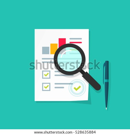 Analytics Data Research Icon Vector Analysis Stock Vector