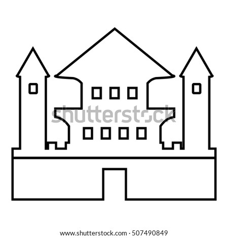 Ancient Palace Icon Outline Illustration Ancient Stock Vector ... on magic kingdom outline, girl outline, village outline, people outline, hospital outline, aqueduct outline, church outline, shop outline, stone outline, zoo outline, apartment outline, coliseum outline, forbidden city outline, bridge outline, beach outline, art outline, pagoda outline, history outline, car outline, temple outline,