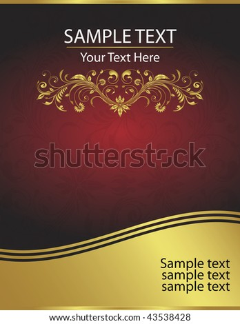 And elegant vector background