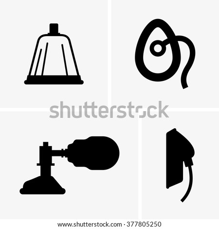 Anesthesia mask - stock vector