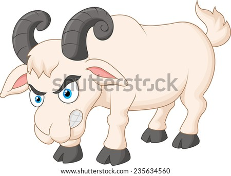Angry goat Stock Photos, Images, & Pictures | Shutterstock