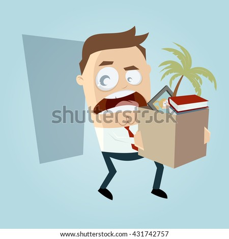 Leaving job stock vectors images vector art shutterstock angry employee quit his job sciox Image collections
