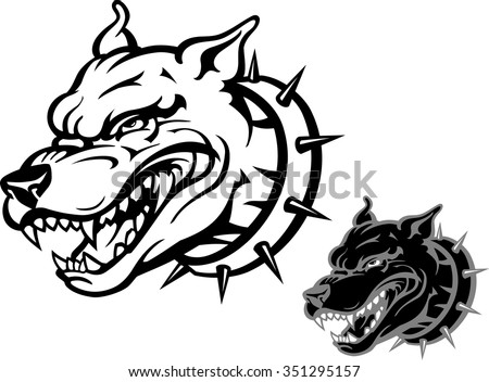 Angry Dog Stock Images...