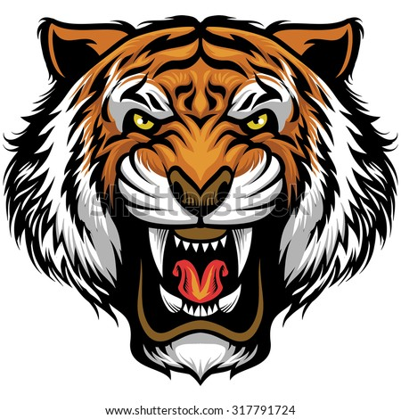 Tiger Face Stock Photos Images amp Pictures Shutterstock