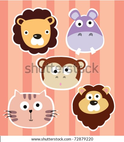 Animal collection 1 - stock vector