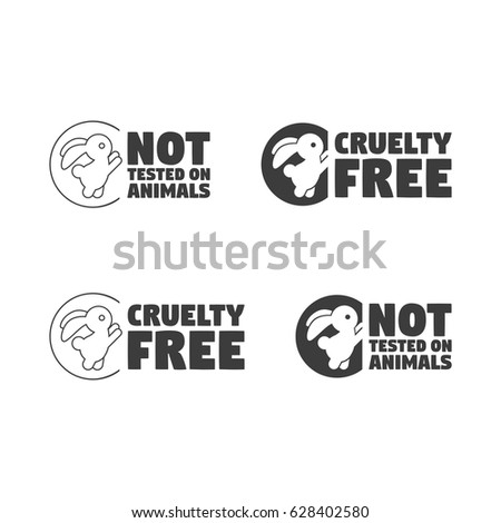 Animal Cruelty Free Symbol Can Be Stock Vector 628402580 Shutterstock
