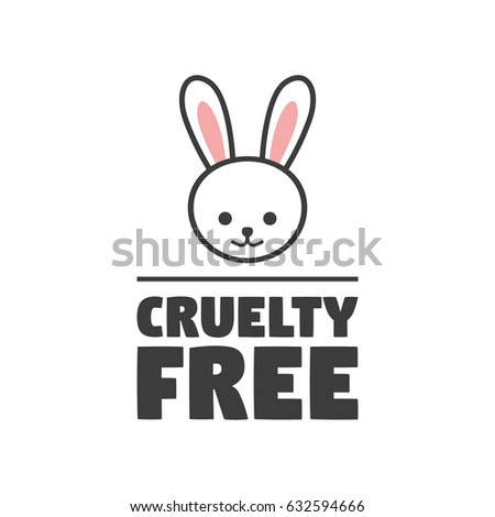Animal Cruelty Free Symbol Can Be Stock Vector Royalty Free