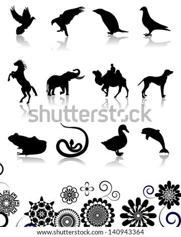 Animal design - stock vector