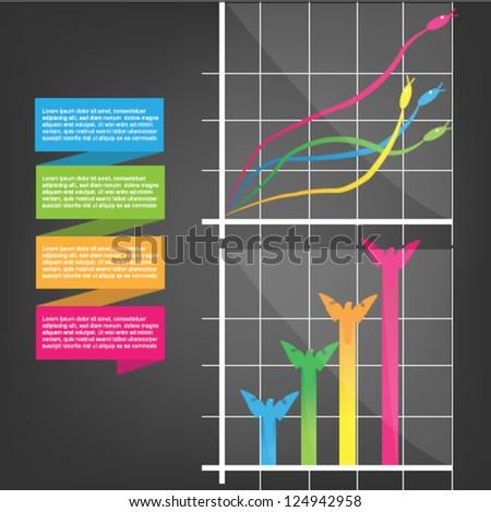 animal diagram - stock vector