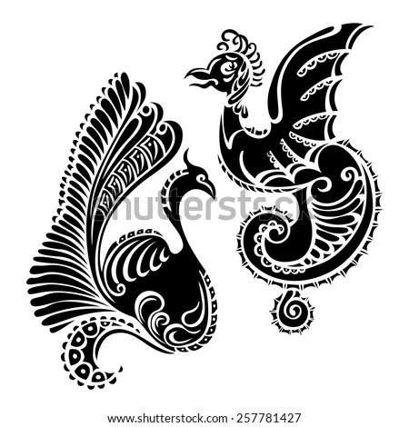 Tattoo Template Images RoyaltyFree Images Vectors – Tattoo Template