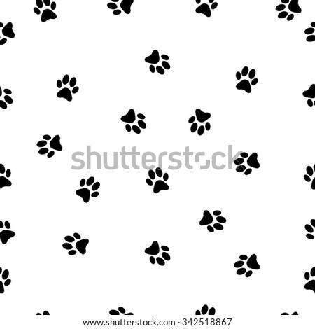Animal foot prints patterns - photo#23