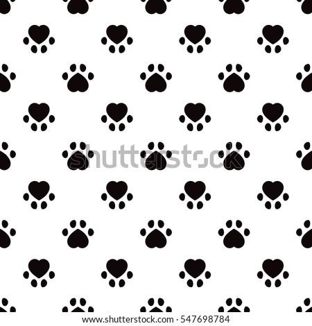 Animal foot prints patterns - photo#20