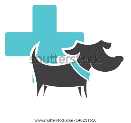animals - first aid - stock vector