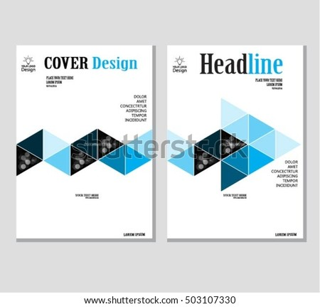 Annual business report cover template booklet stock vector 503107330 annual business report cover template booklet brochure cover poster presentation business friedricerecipe Images
