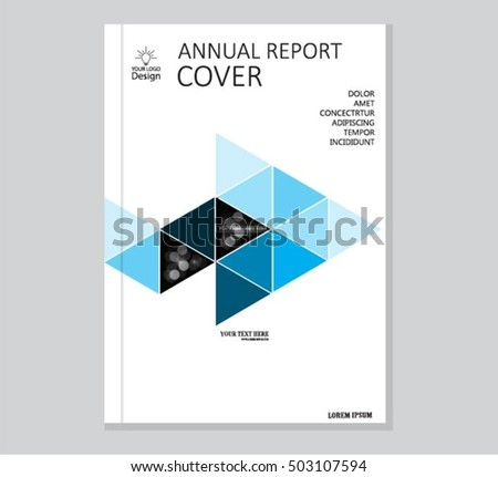 professional business report cover