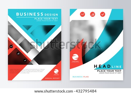 Annual report brochure. Flyer annual report layout. Leaflet cover presentation layout. Cover design. Presentation template business flyer a4