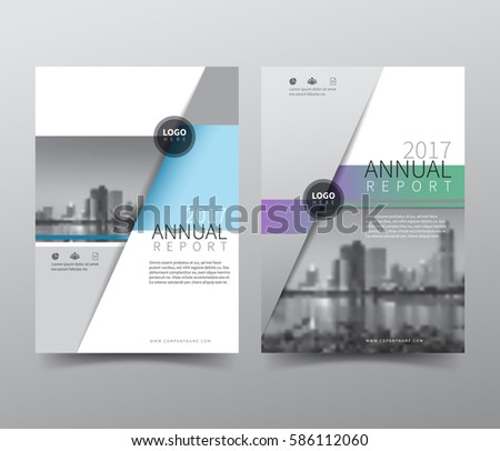 Annual Report Cover Images RoyaltyFree Images Vectors – Book Report Cover Page Template