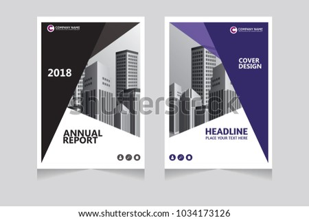 annual report pamphlet presentation brochure front page book cover layout design