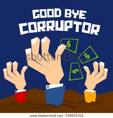 Foreign Corruption Clip Art