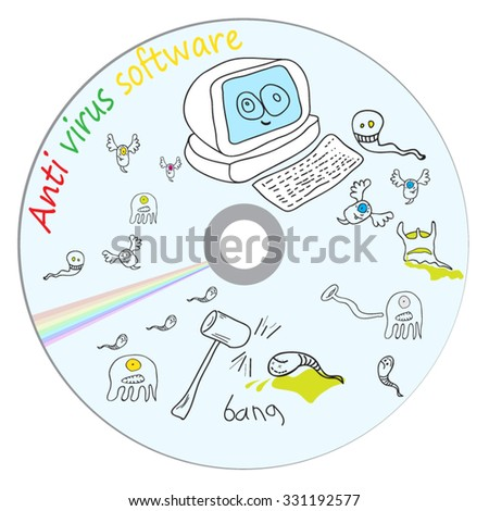 Anti virus CD software. Can be print on CD.