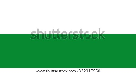 Antioquia vector Flag, Colombia. Flag of Colombian Department Antioquia  - stock vector