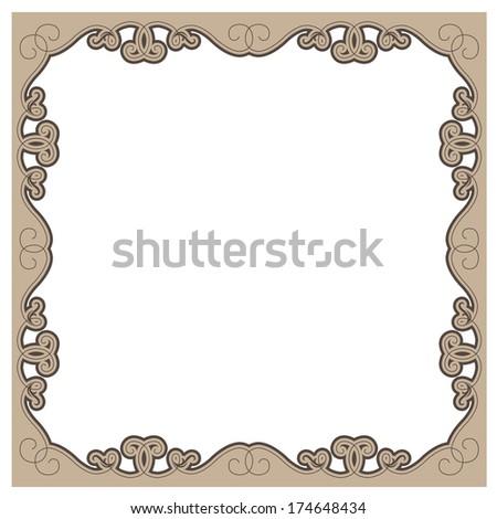 Antique picture frames - stock vectorAntique Picture Frames Vector