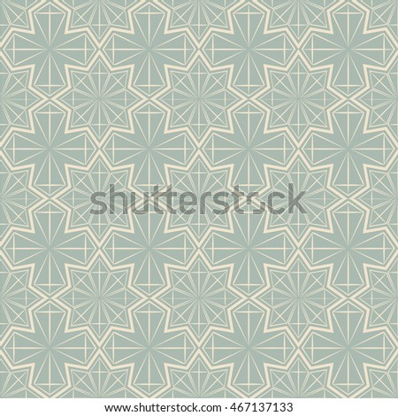 Antique seamless background 501 star polygon geometry cross line