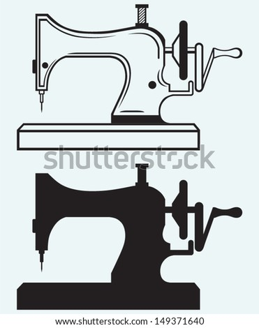 Old Sewing Machine Stock Images, Royalty-Free Images & Vectors ...