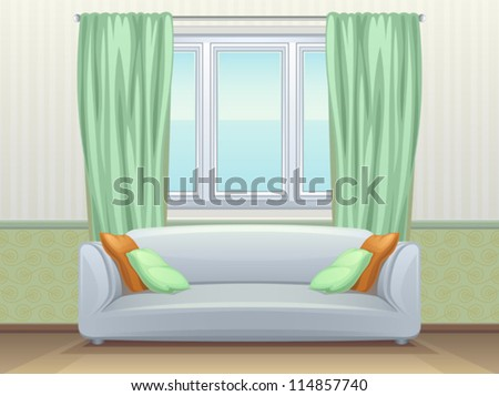 Apartment - stock vector