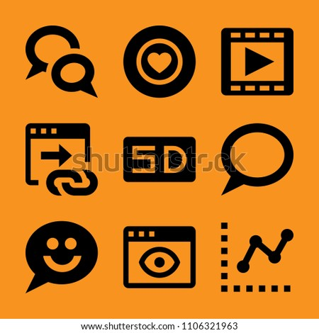 App chat smart chart alphabet diagram stock vector 1106321963 app chat smart chart alphabet and diagram icon vector set flat ccuart Images