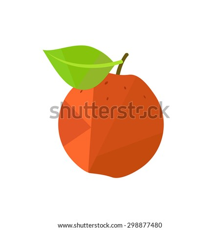 Apple fruit - stock vector