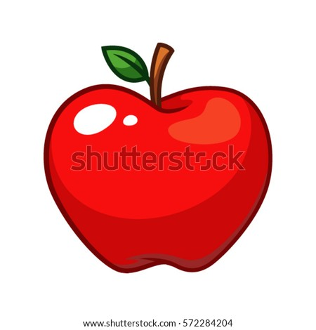 apple fruit clip art. apple fruit vector. clip art