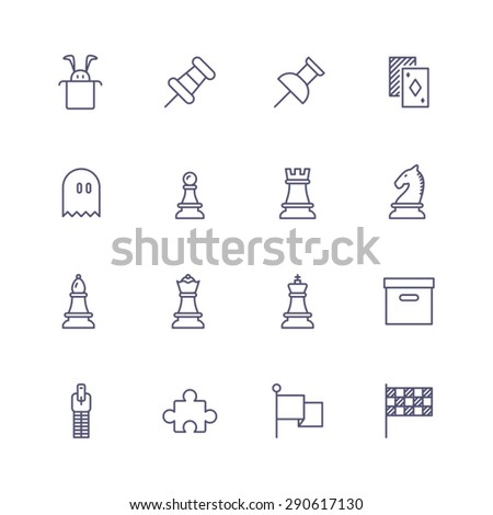 Application icons - stock vector