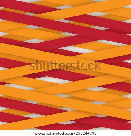 Applique paper background - stock vector