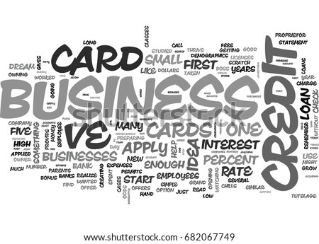Apply business credit card online convenient stock vector 682067749 apply for a business credit card online the convenient way text word cloud concept reheart Images