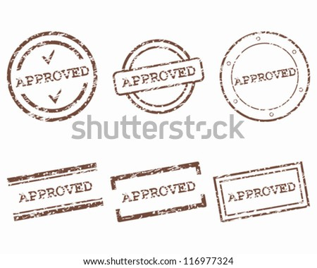Approved stamps