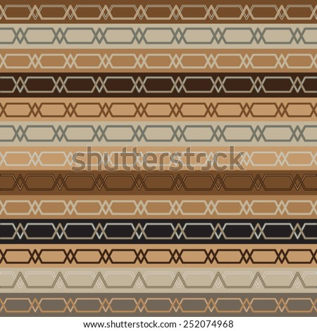 Arabesque Motif From Bahrain - Background - stock vector