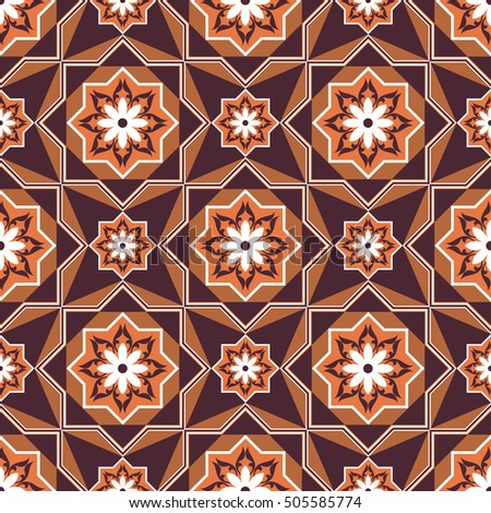 Arabesque. Pattern in Moorish style. Arab seamless texture. Element of design.Islamic background.Oriental ornament.