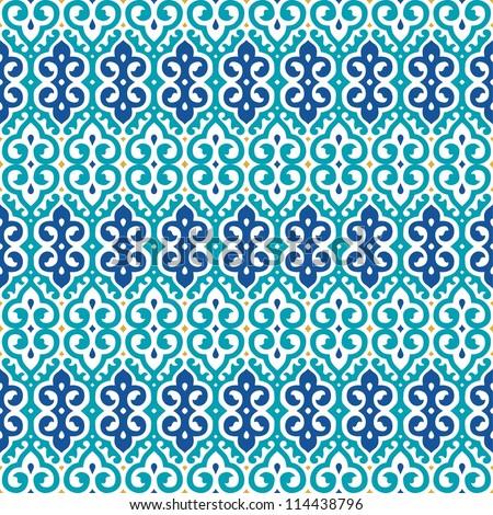 arabian islamic oriental seamless pattern vector stock vector
