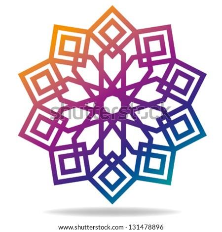 arabic decorative pattern islamic symbol stock vector 131478896 rh shutterstock com islamic vector ai islamic vector ai