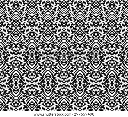 arabic pattern - stock vector