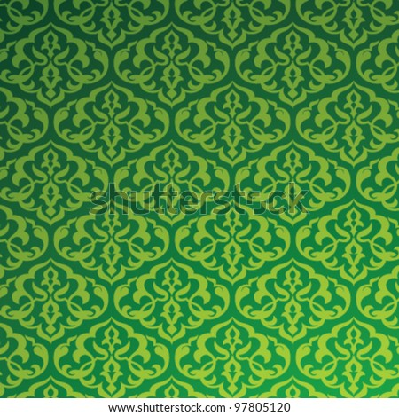 Arabic Pattern Background. Islamic Design - stock vector