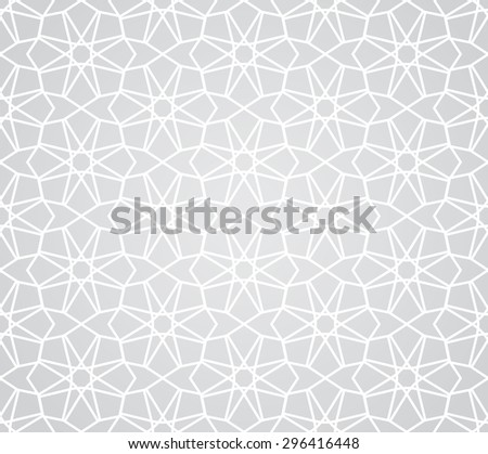 arabic ramadan traditional seamless pattern, endless texture can be used for wallpaper, pattern fills, web page,background, surface - stock vector