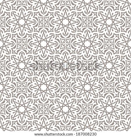 Arabic seamless pattern - stock vector