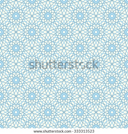 Arabic Seamless Pattern And Texture. Muslim, Ramadan Light Background. Use  For Print Or