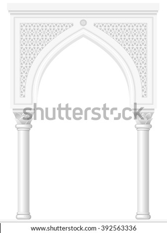 Middle Eastern Architectural Coloring Pages