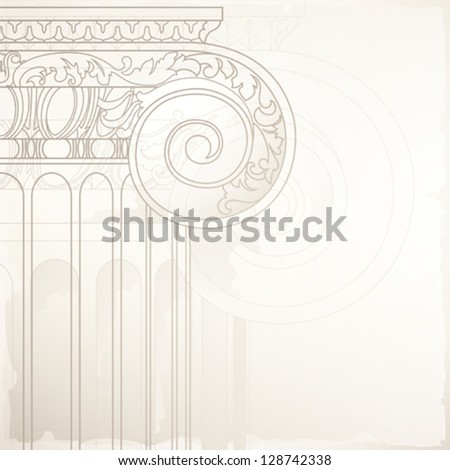 architectural design background , eps10 - stock vector