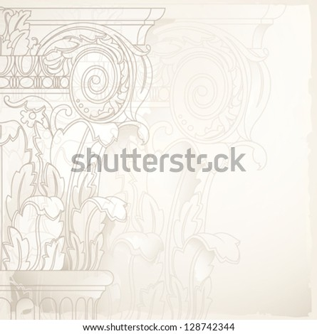 architectural drawing as background , eps10 - stock vector
