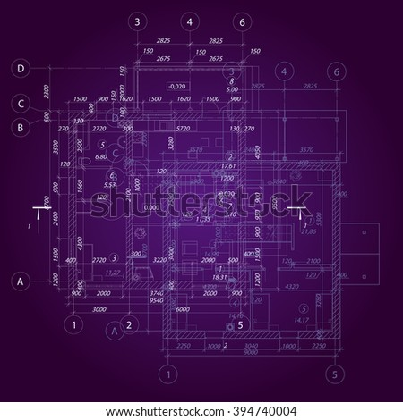 electrical wiring diagram background stock vector 96335309 architectural plan background vector illustration