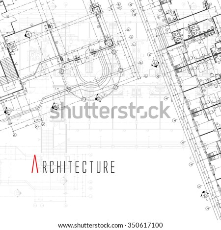 Architecture Background. - stock vector